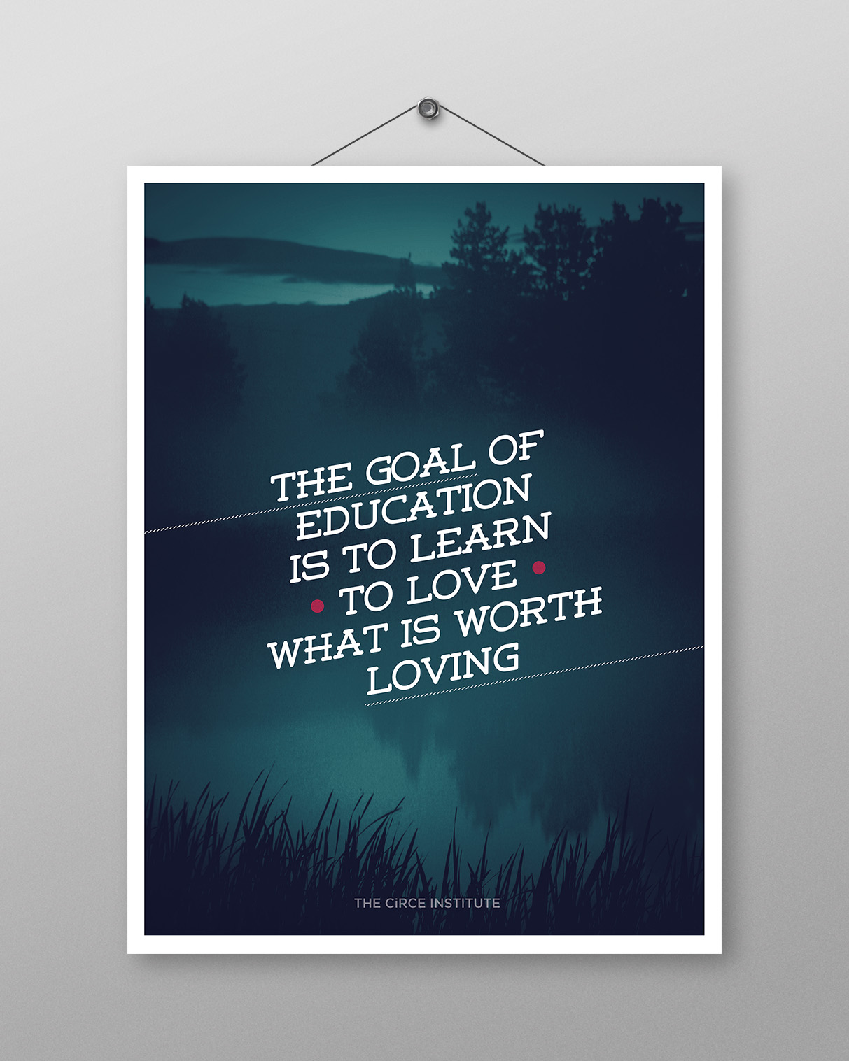 The Goal of Education Poster