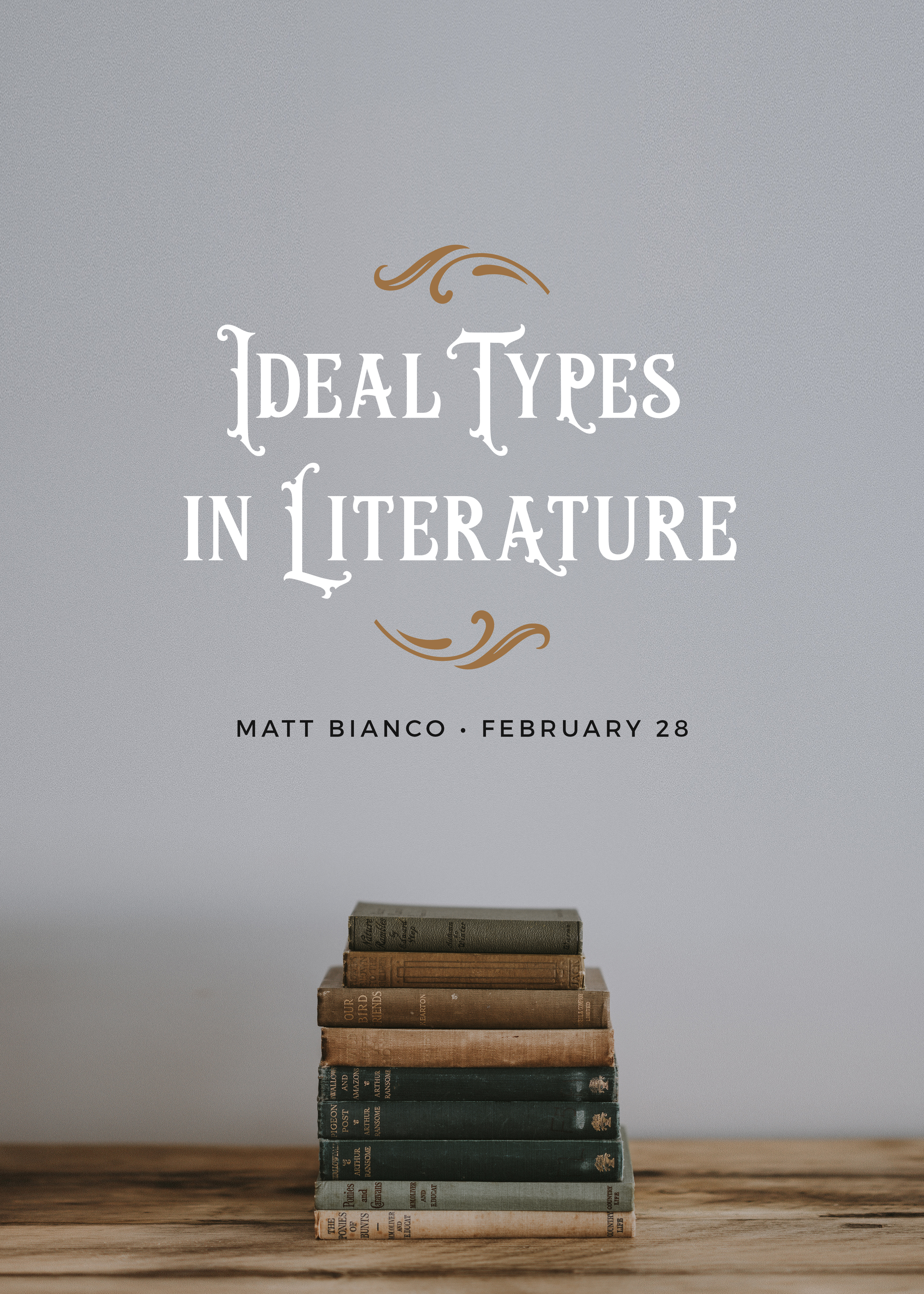 Ideal Types in Literature - Webinar Recording