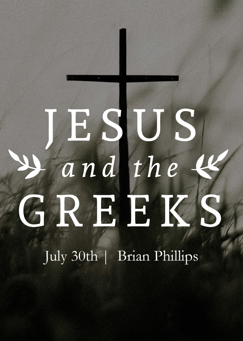 Jesus and the Greeks - Webinar Recording