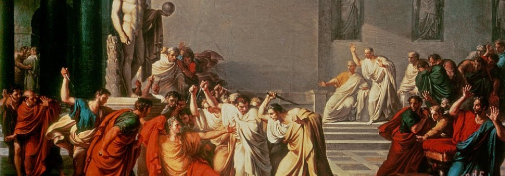 an analysis of the death of julius caesar Julius caesar read the sparknote →  of all the strange things i've ever heard, it seems most strange to me that men fear death, given that death, which can.