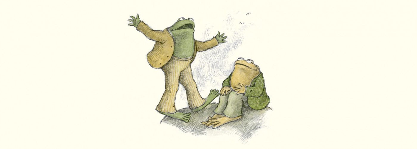 Why We Need Frog And Toad More Than Ever